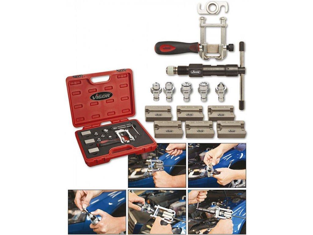 Sada nástrojů pro úpravu konců/osazení trubiček U-V1728