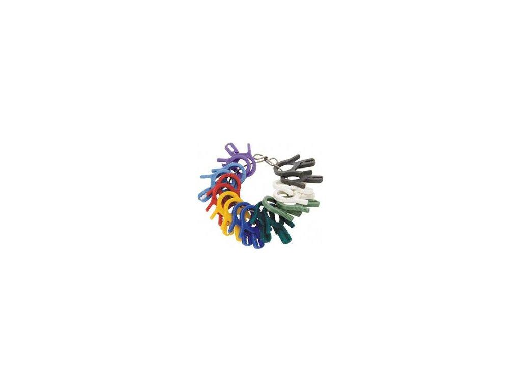 Identifikační klipsny 9 barev X-R595