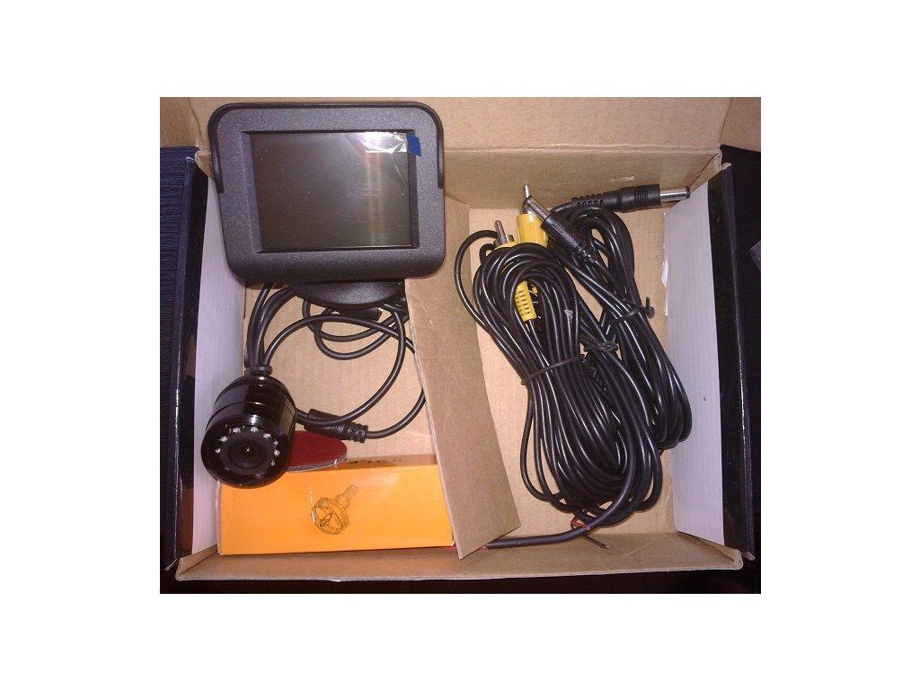 Parkovací systém s kamerou a TFT monitorem NET-KSM