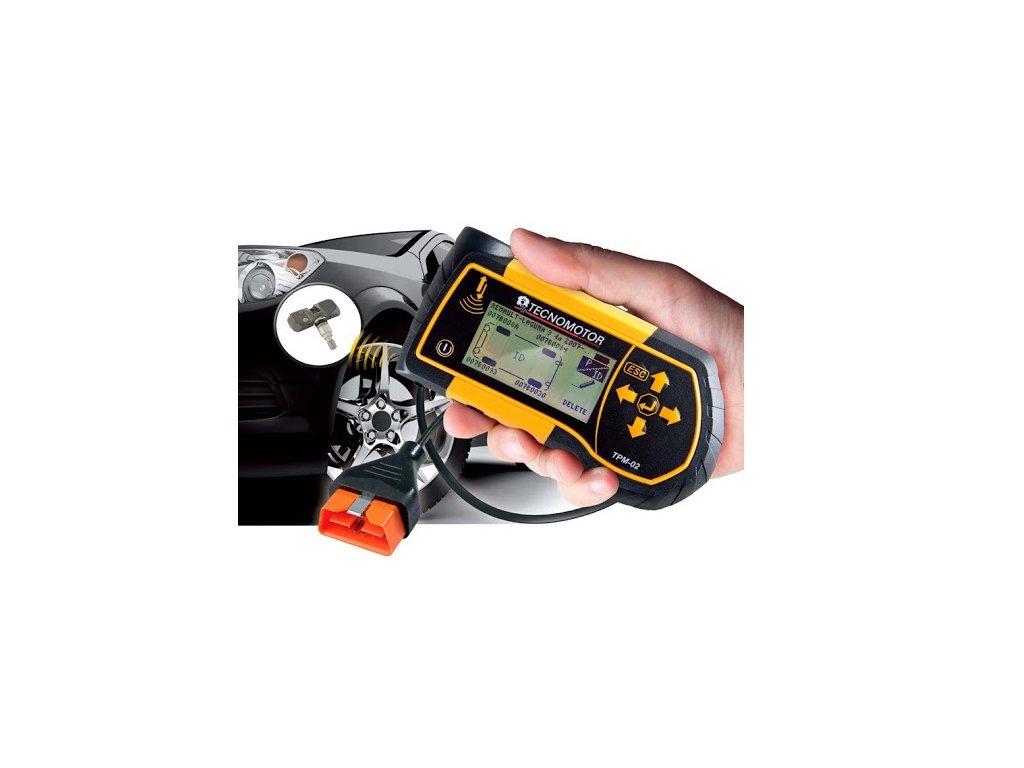 Servisní přístroj pro systémy TPMS Tecnomotor TPM-02