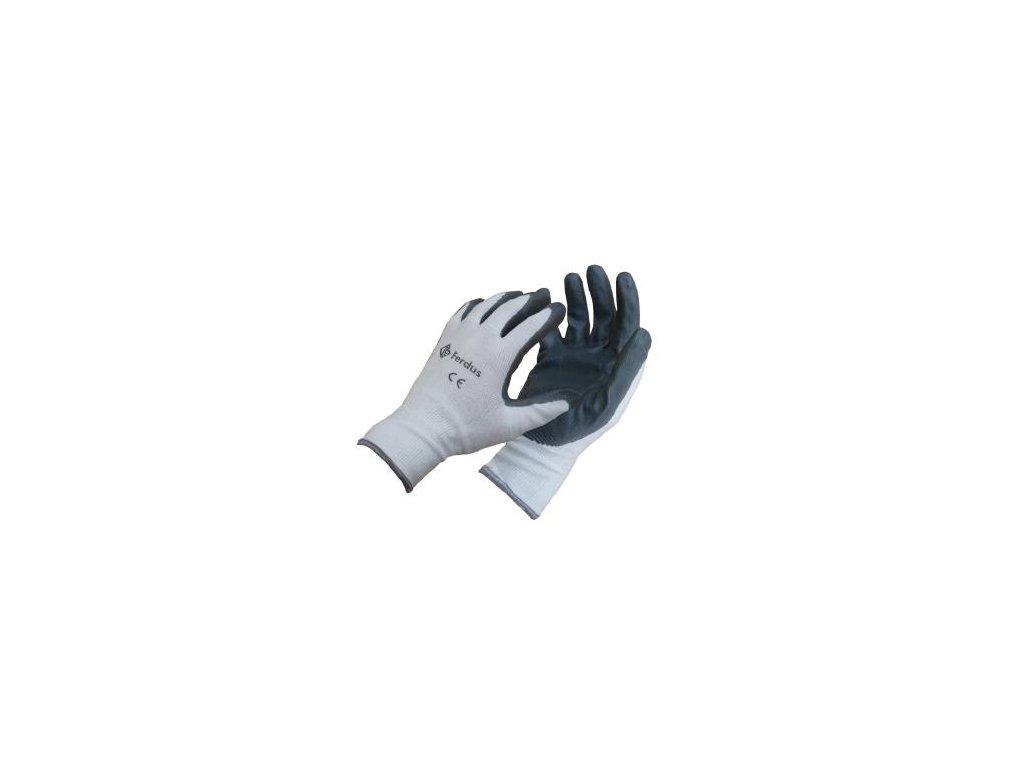 Pracovní rukavice, vel. 10  F-114.18