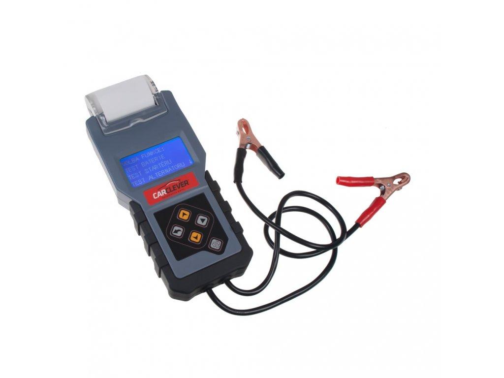 Tester 3v1 baterie/nabíjení/startér s tiskárnou ST-908T