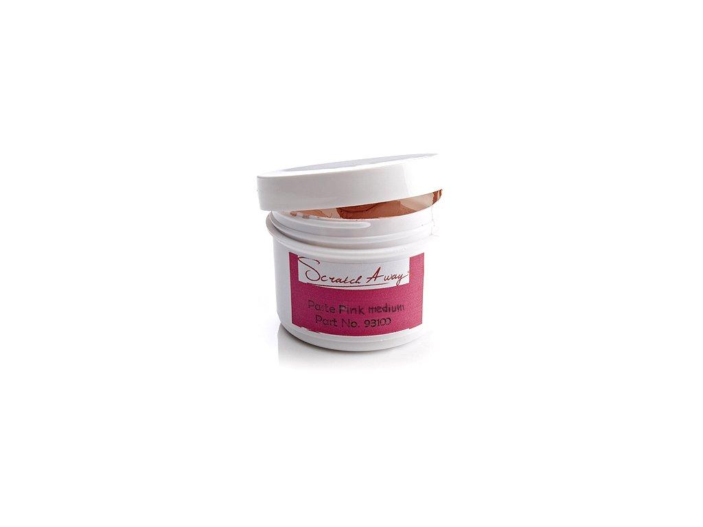 Pasta růžová pro středně hrubé odlešťování 60 ml D-100