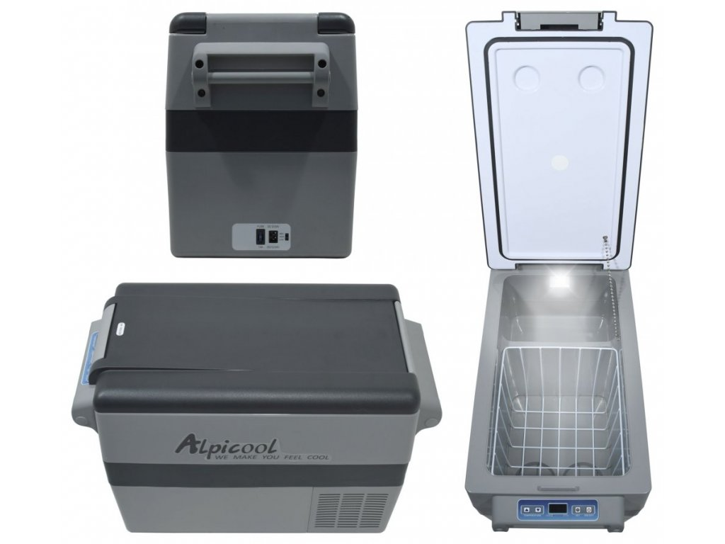 Chladící box DUAL kompresor 45l 230/24/12V -20°C C-07087