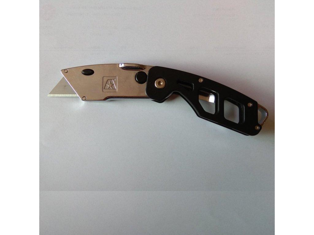 Kapesní zavírací nůž na trapézové břity M-PSN-652