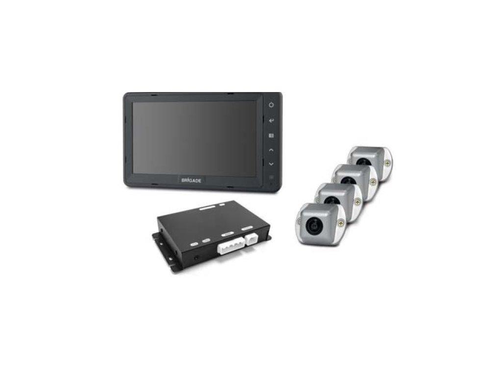 Kompletní přehledový systém 360° Select SE-7104F-100