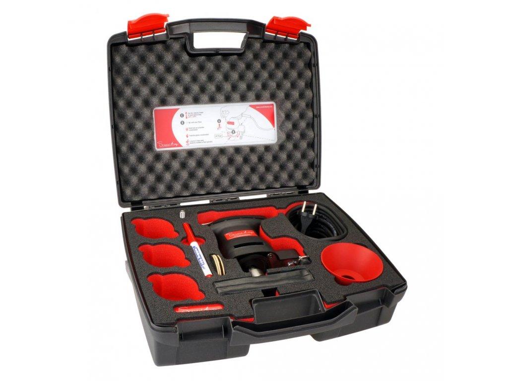 Profesionální sada na odlešťování skel - elektrická D-SAW360-KIT-2