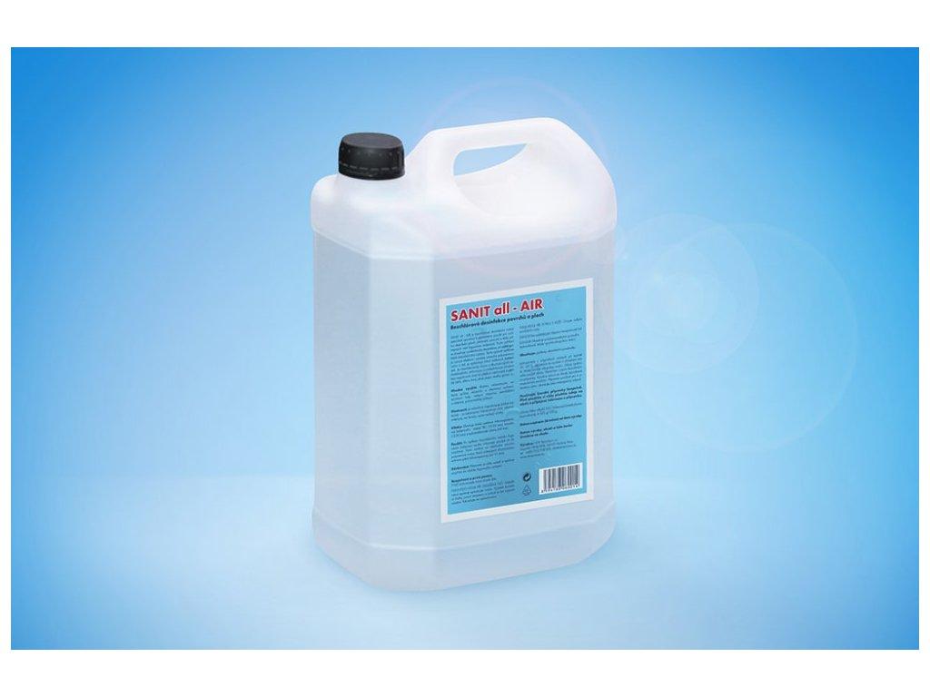 SANIT ALL AIR - Bezchlórová dezinfekce povrchů a ploch 5 l