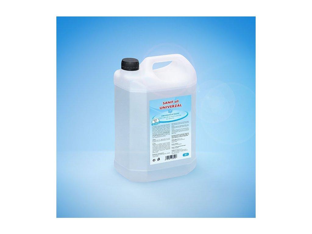 SANIT all UNIVERZÁL čisticí a dezinfekční prostředek 5 l