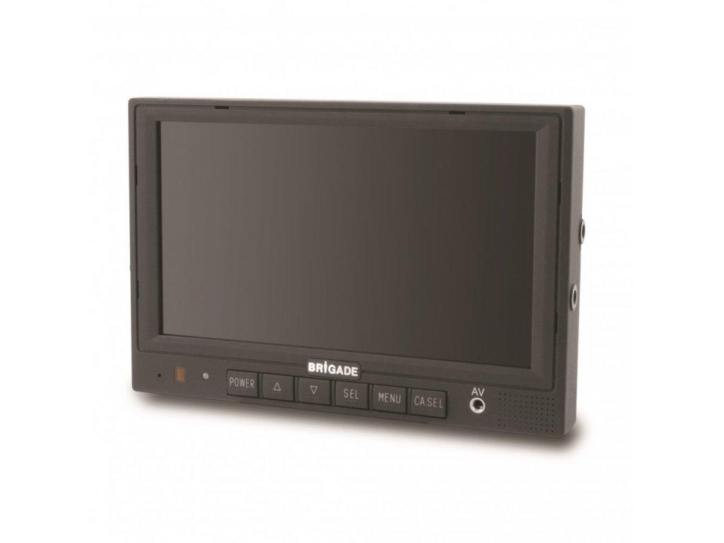 """Barevný 7"""" monitor s podporou kamery s el. krytkou VBV-770M-S"""