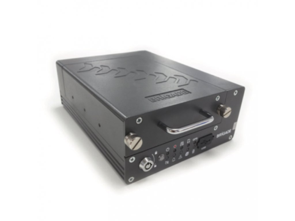 Záznamové zařízení 4 kamerové vstupy s 4G MDR-504G-2-G2-SSD