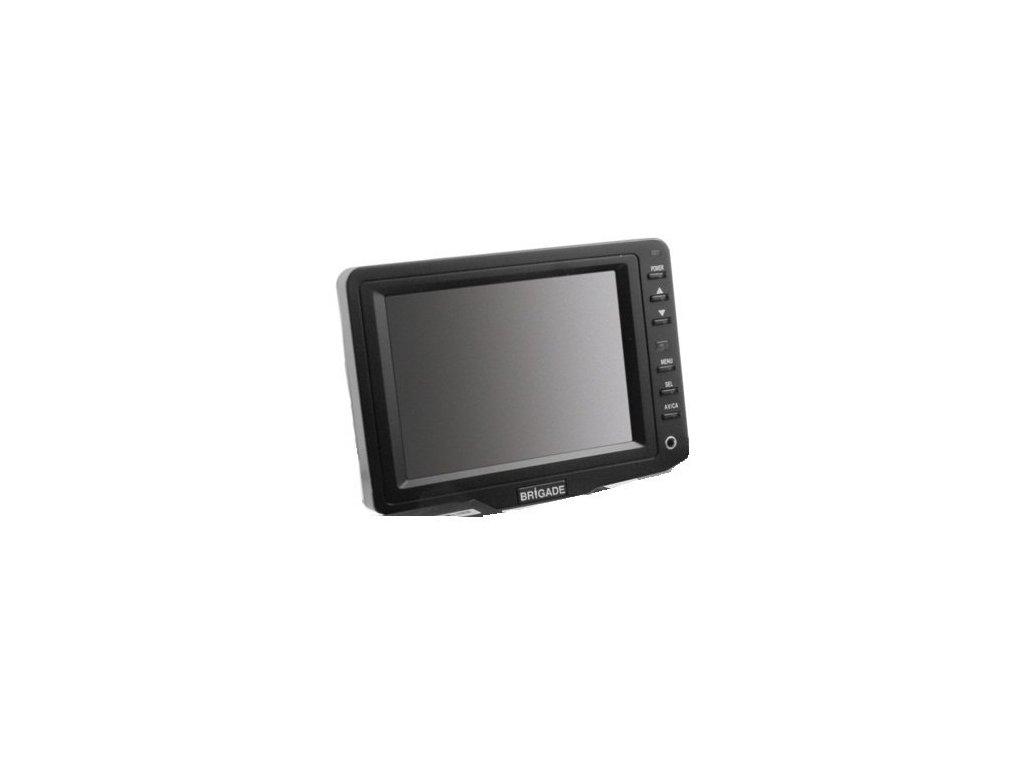 "Barevný 5"" monitor, 1 kamerový vstup bez zvuku VBV-650M"
