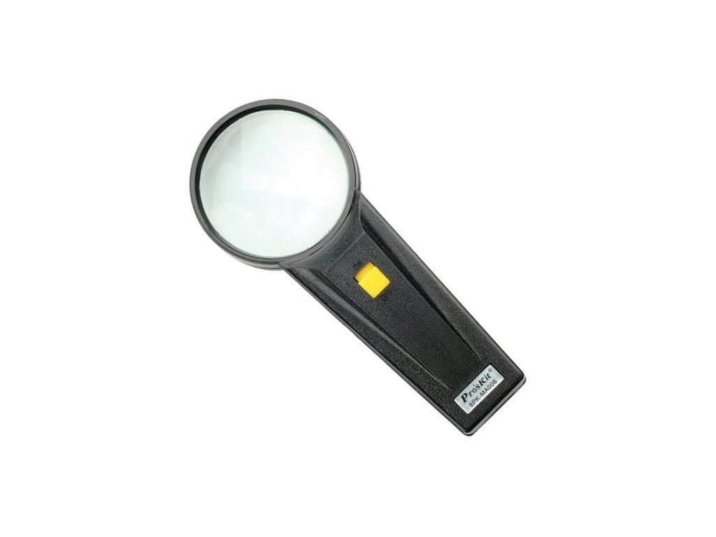 Lupa ruční s osvětlením GM-MA006