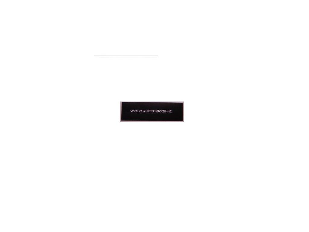 Jednotlivé pásky s VIN kódem do 4 ks včetně