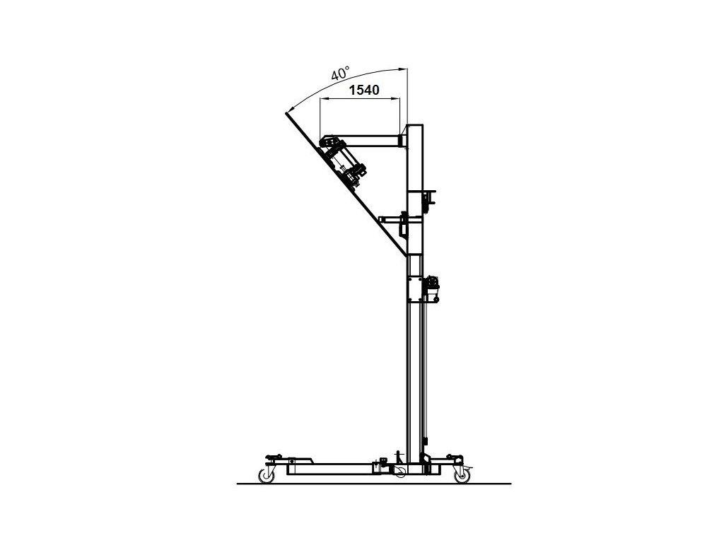 Rameno 1540 mm pro BB-3500TS