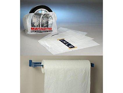 Ochranné vaky MD-PE na kola 65/21x86 cm U-800