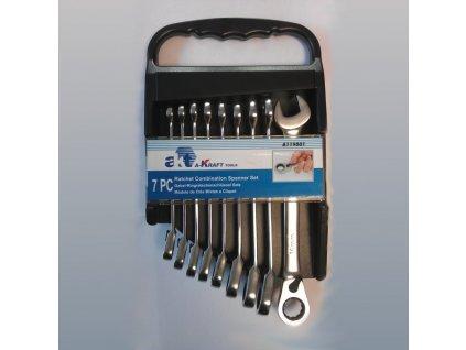 Sada 9 ks ráčnových klíčů A-RK9