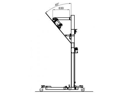 Rameno 830 mm pro BB-3500TS