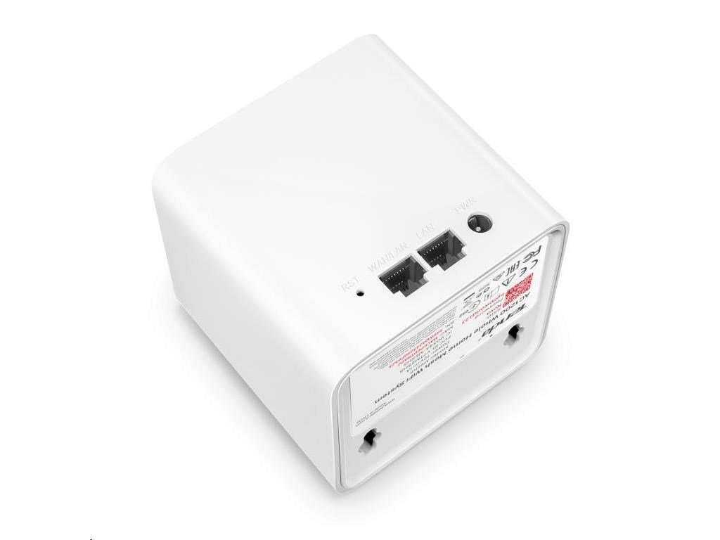 Tenda Nova MW5 (3-pack) WiFi AC1200 Mesh system Dual Band, 2x GLAN/GWAN,ostatní 1x LAN,SMART CZ app