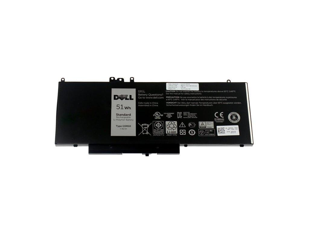 Dell Baterie 4-cell 51W/HR LI-ON pro Latitude E5250,E5450,E5550