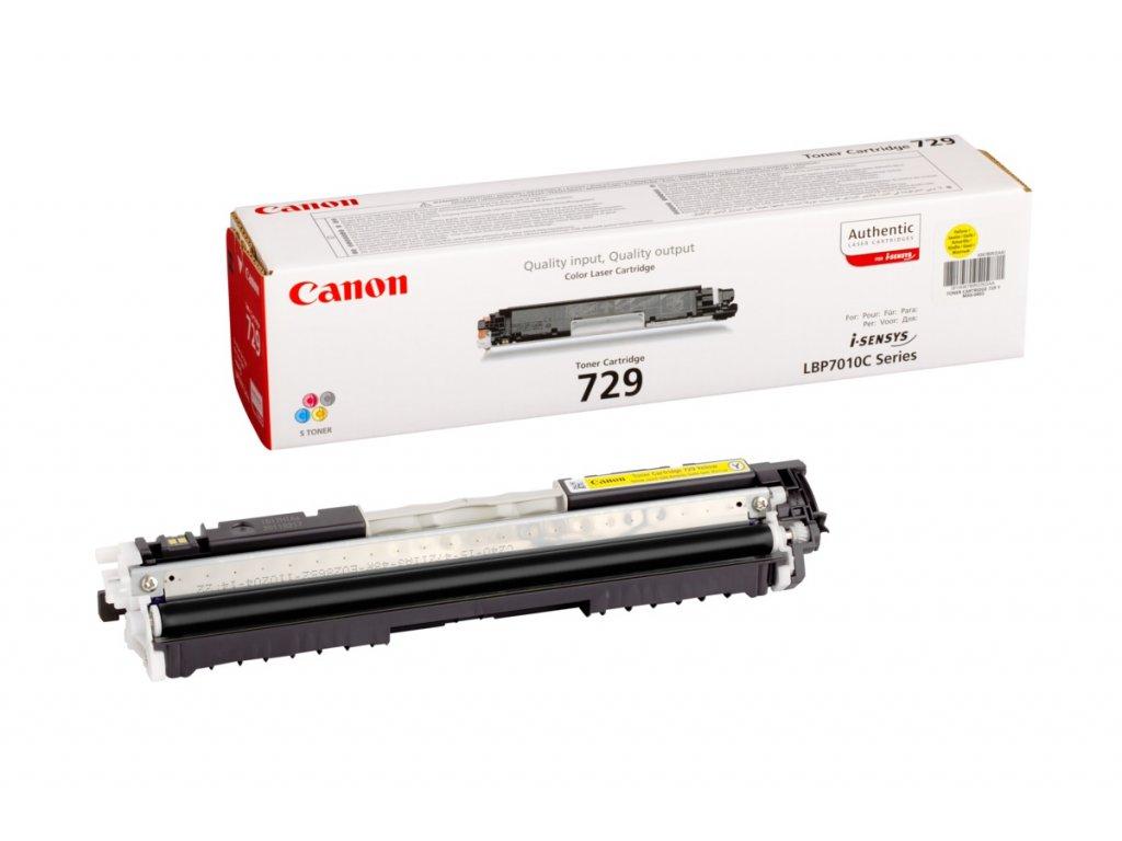 Canon CRG 729 Y, žlutý