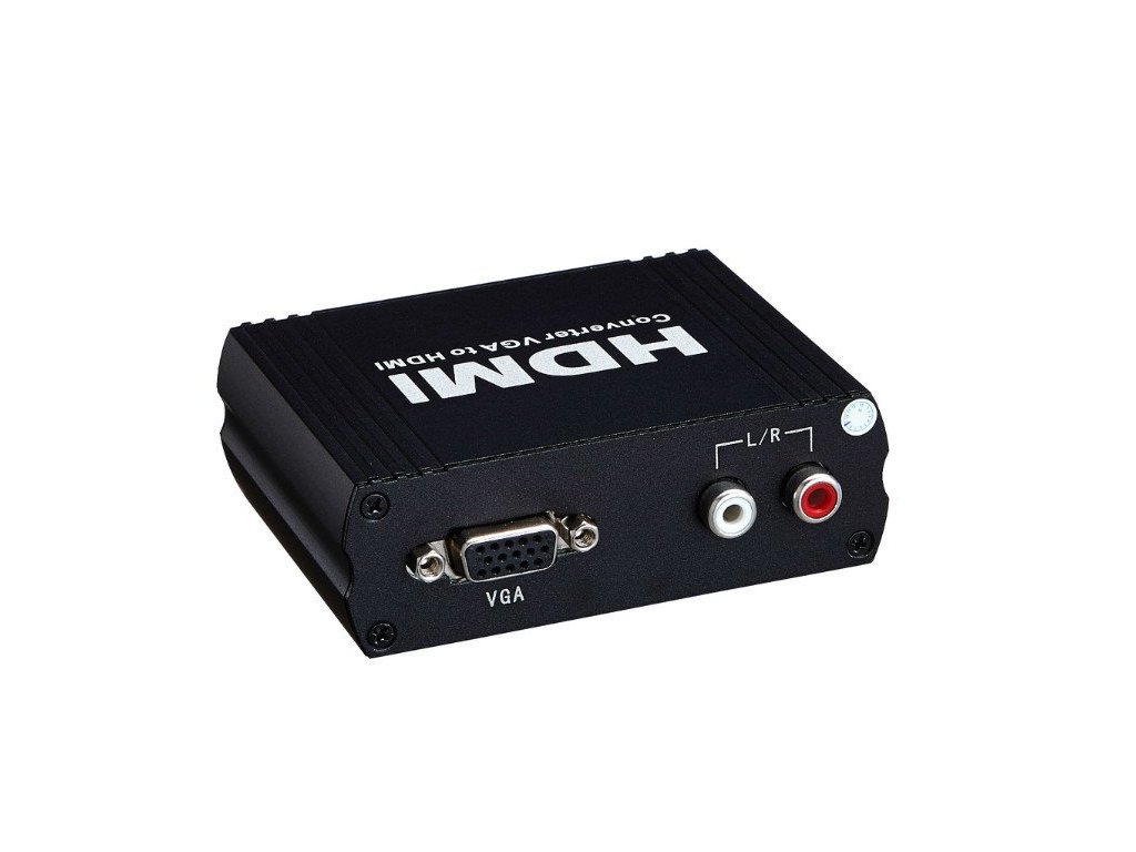 PremiumCord VGA+stereo audio elektronický konvertor na rozhraní HDMI