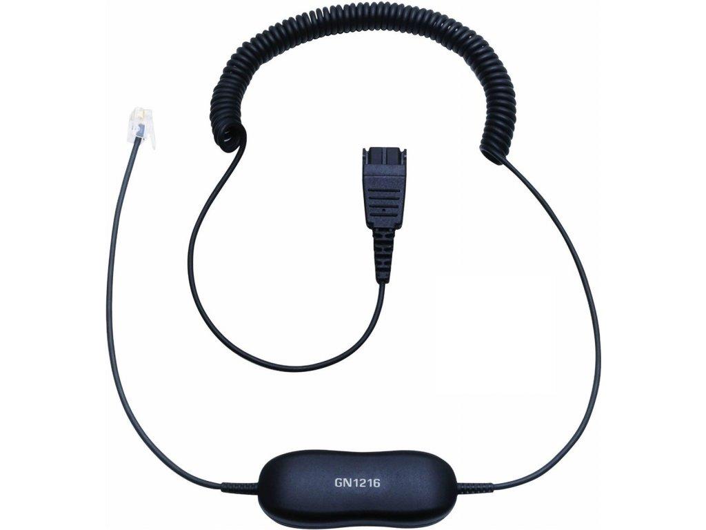 Jabra Smart Cord, QD-RJ9, coiled