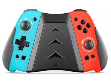 iPega SW006 Wireless Switch Gamepad Joycon vč. Multi Grip pro N-Switch