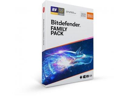 Bitdefender Family pack - 15 zařízení na 1 rok- BOX OEM