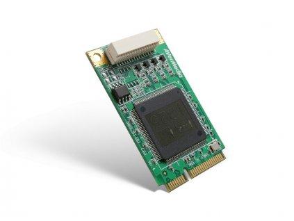AVERMEDIA Dark Crystal SD Capture Mini-PCIe Quad (C351W), nahrávací/střihová karta, industrial