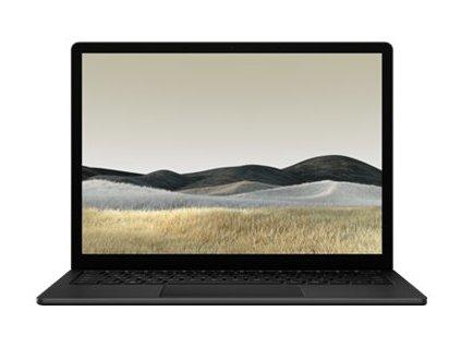 """Microsoft Surface Laptop 3 - Core i7 1065G7 / 1.3 GHz - Win 10 Pro - 16 GB RAM - 1 TB SSD NVMe - 13.5"""" dotykový displej 2256 x 1504 - Iris Plus Graphics - Bluetooth, Wi-Fi 6 - matná čerň - kbd: německá - komerční"""