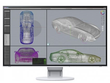 27'' LED EIZO EV2785 - UHD,IPS,DP,USB-C,piv,rep,wh
