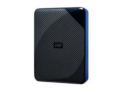 WD Gaming Drive WDBM1M0040BBK - Pevný disk - 4 TB - externí (přenosný) - USB 3.0 - černý vršek a modrý spodek
