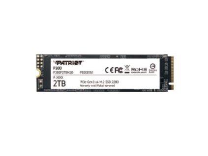 SSD 2TB PATRIOT P300 M.2 2280 PCIe NVMe
