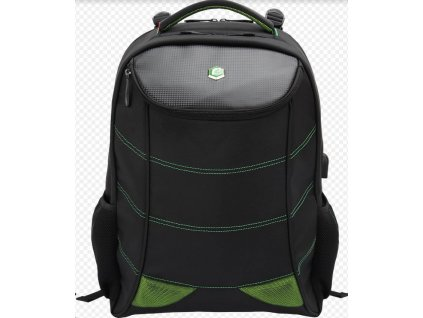 """Bestlife gamingový batoh na 17"""" notebook s usb konektormi na nabíjanie"""