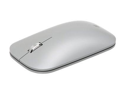 Microsoft Surface Mobile Mouse - Myš - optický - 3 tlačítka - bezdrátový - Bluetooth 4.2 - platina - komerční
