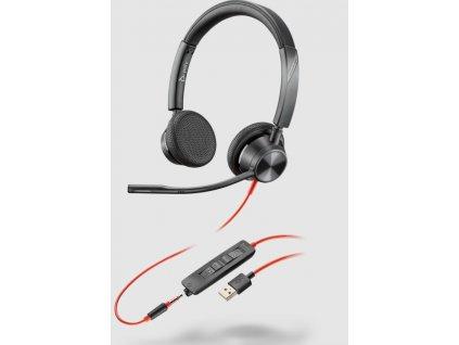 Plantronics Blackwire 3325, MS, USB-A, Stereo