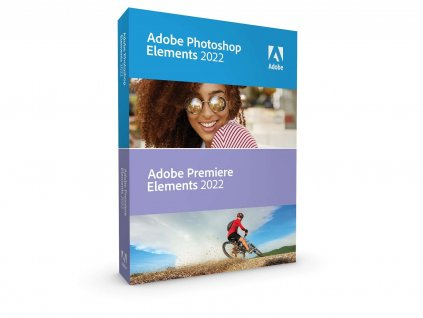Photoshop & Premiere Elements 2022 WIN CZ FULL BOX