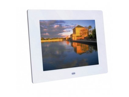 Braun DigiFRAME 82 White (8'', 1024x768px, 4:3 LED)