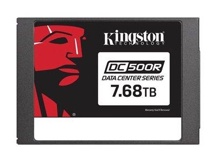 """Kingston Data Center DC500R - SSD - šifrovaný - 7.68 TB - interní - 2.5"""" - SATA 6Gb/s - AES - Self-Encrypting Drive (SED)"""