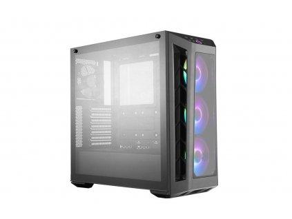 Cooler Master case MasterBox MB530P, ARGB, ATX, Micro-ATX, Mini-ITX, USB3.0, bez zdroje, černý