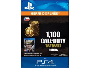 ESD CZ PS4 - 1,100 Call of Duty®: WWII Points (Av.22.11.2017)