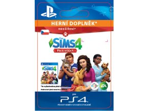 ESD CZ PS4 - The Sims™ 4 Cats & Dogs