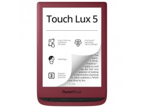 E-book POCKETBOOK 628 Touch Lux 5, Red