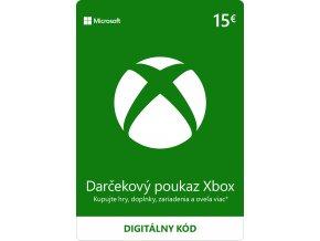 ESD XBOX - Dárková karta Xbox 15 EUR