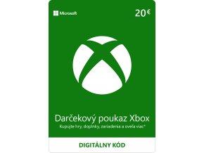 ESD XBOX - Dárková karta Xbox 20 EUR