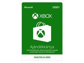 ESD XBOX - Dárková karta Xbox 5990 HUF