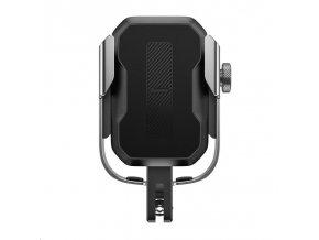 Baseus univerzální držák na mobilní telefon na kolo / motocykl Armor stříbrná