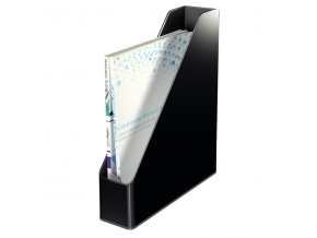 Stojan na časopisy dvoubarevný Leitz, černá, 4 ks