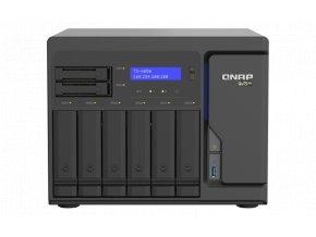 QNAP TS-h886-D1622-16G (Xeon 3,2GHz, ZFS, 16GB ECC RAM, 6x3,5''+2x 2,5'', 2xPCIe, 4x2,5GbE,2xM.2 NVMe)